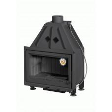 Топка АЛЬФА 700-150В с черным шамотом